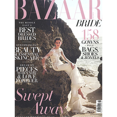 Teresa's work at Bazar Magazine Cover