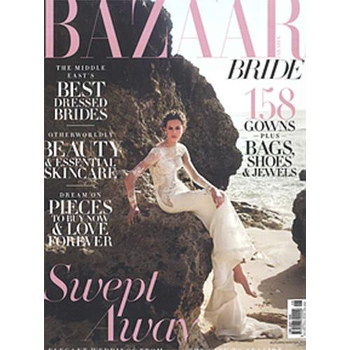 Teresa's work at Bazar Magazine Cover