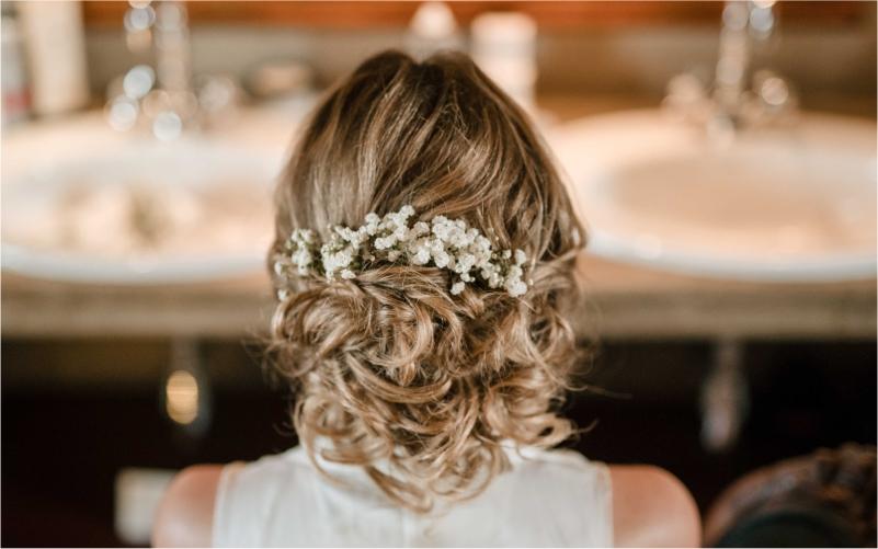 Hair piece by professional Hair Stylist Teresa Snowball